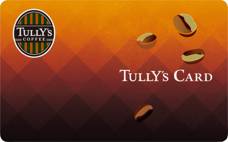 tully s card tully s coffee タリーズコーヒー