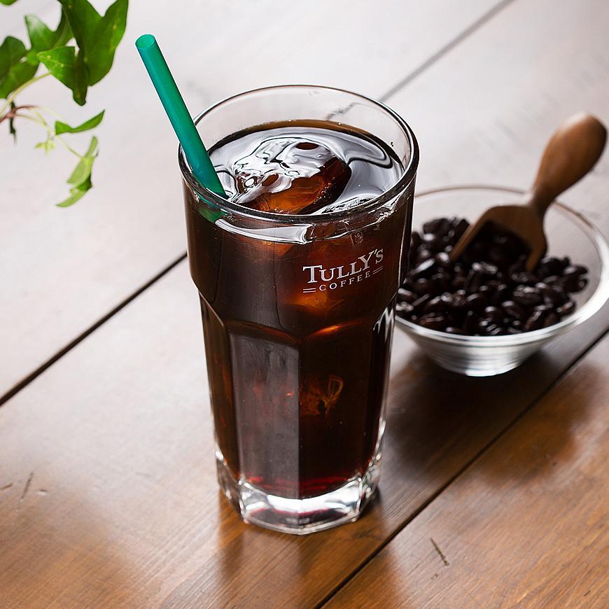 TULLY'S COFFEEグローバルナビ            アイスコーヒー                                            Footer