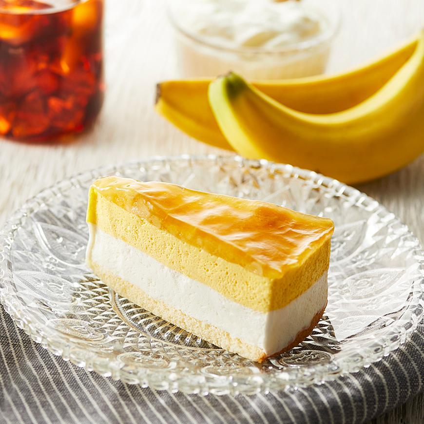 バナナとヨーグルトのシブースト
